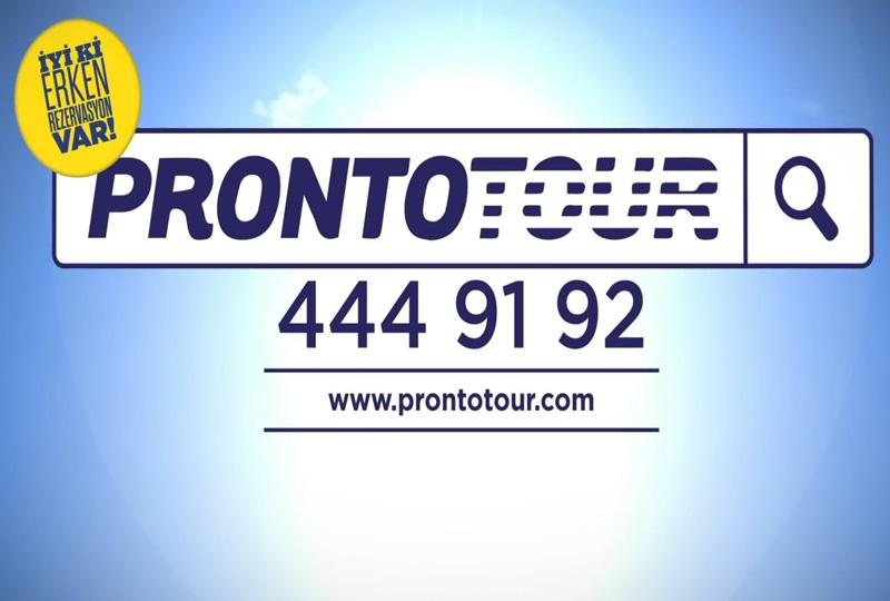 Prontotour Reklam Çekimi